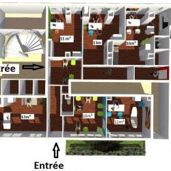 Location Local d'activités Boulogne-Billancourt 108 m²
