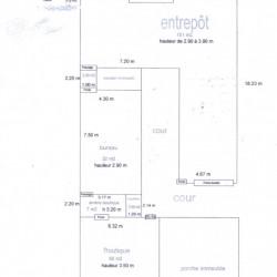 Cession de bail Local commercial Paris 3ème 250 m²