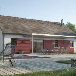Maison  4 pièces + Terrain  534 m² Brou