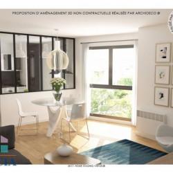 Appartement 48 m² avec cave et parking