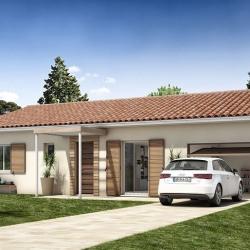 Maison  4 pièces + Terrain  495 m² Siran