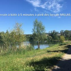 Terrain  de 285 m²  Millas  (66170)