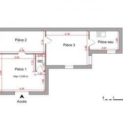 Location Local commercial Strasbourg 43,04 m²