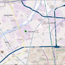 Location Local d'activités Saint-Ouen 2903 m²
