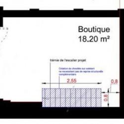 Location Boutique Paris 8ème 1