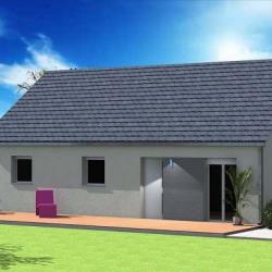 Maison  4 pièces + Terrain  500 m² Verton