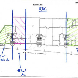 Location Bureau Lyon 8ème 823 m²