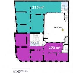 Location Bureau Paris 9ème 380 m²