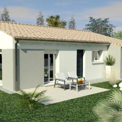 Maison  3 pièces + Terrain  367 m² Saintes