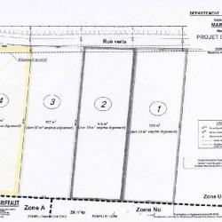 Vente Terrain Marquion 901 m²