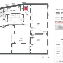 Location Bureau Paris 8ème 2223 m²