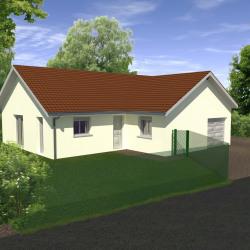 Maison  3 pièces + Terrain  400 m² Morestel