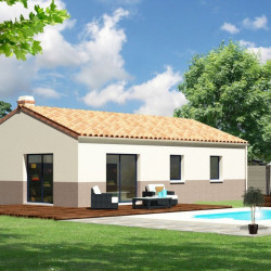 Maison  4 pièces + Terrain   m² Saint-Cyr-en-Talmondais