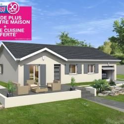 Maison  4 pièces + Terrain  608 m² Foissiat