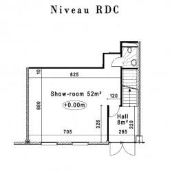 Location Bureau Villeneuve-la-Garenne 198 m²