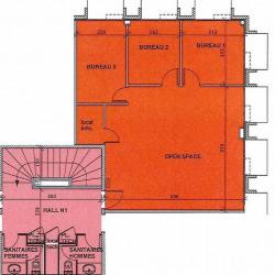 Location Bureau Sophia Antipolis 224 m²