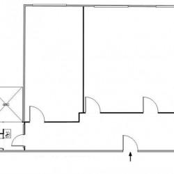 Location Bureau Saint-Ouen 103 m²