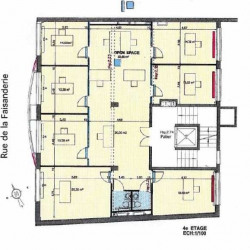 Location Bureau Paris 16ème 180 m²