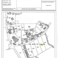 Vente Terrain Aizy-Jouy 1388 m²