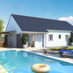Maison  6 pièces + Terrain  890 m² Mont sous Vaudrey