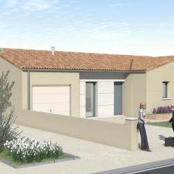 Maison  4 pièces + Terrain   m² Savigny-Lévescault