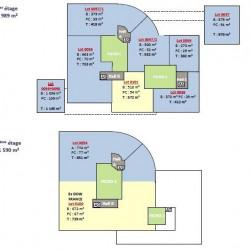 Location Bureau Villepinte 1311 m²