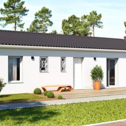 Maison  3 pièces + Terrain  730 m² Coutras