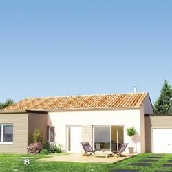 Maison  4 pièces + Terrain  550 m² Saint-Chamond