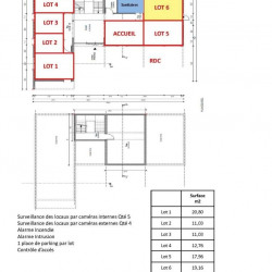 Location Bureau Metz 20 m²