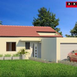 Maison  3 pièces + Terrain   m² La Palme