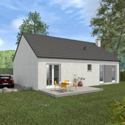 Maison  5 pièces + Terrain  892 m² Ruffec