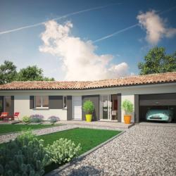 Maison  4 pièces + Terrain  1000 m² Aujac