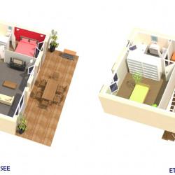 Terrain  de 280 m²  Gabian  (34320)