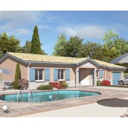 Maison  3 pièces + Terrain  1476 m² Antagnac