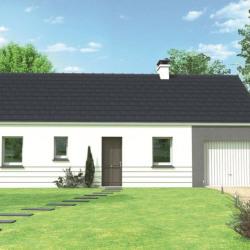 Maison  4 pièces + Terrain  871 m² Domfront-en-Champagne