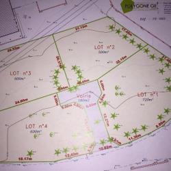 Vente Terrain Saint-Siméon-de-Bressieux 720 m²