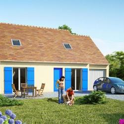 Maison  4 pièces + Terrain  705 m² Moult