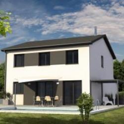 Maison  4 pièces + Terrain  491 m² Saint-Victor-de-Cessieu