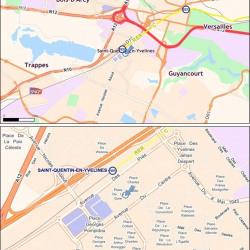 Location Bureau Montigny-le-Bretonneux 334 m²