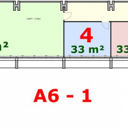 Location Bureau Les Ulis 16 m²