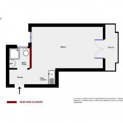 Vente Appartement Paris Brochant/Guy Môquet - 21m²