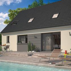 Maison  4 pièces + Terrain  475 m² Brézins