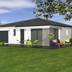 Maison  4 pièces + Terrain  483 m² Saint-Paul-en-Born