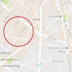 Location Local commercial Paris 3ème 108 m²