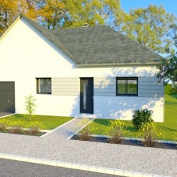 Maison  5 pièces + Terrain  823 m² Le Breil-sur-Mérize