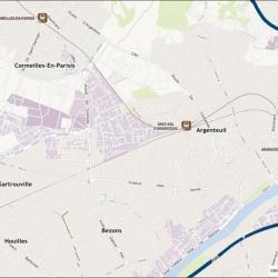 Location Local d'activités Argenteuil 1331 m²