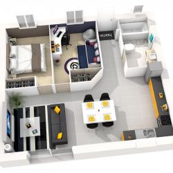 Maison  3 pièces + Terrain  380 m² Faremoutiers