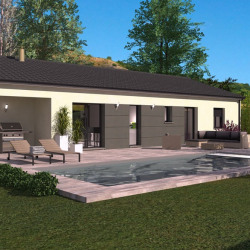 Maison  4 pièces + Terrain  900 m² Yenne