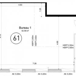 Vente Bureau Ifs 42 m²