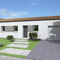 Maison  5 pièces + Terrain  705 m² Clussais-la-Pommeraie
